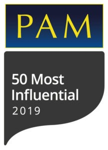 PAM Awards Top 50 Most Influential